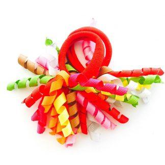 Hair Ties Short Korker multicolour Carnival (pair)
