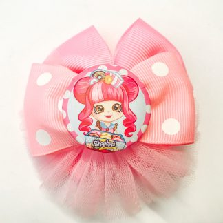 Fancy hair Accesorries clip Shopkins Pink