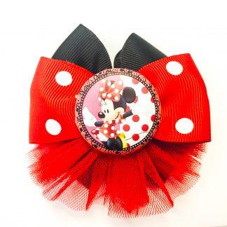 Fancy Hair accesorries clip Minnie Mouse